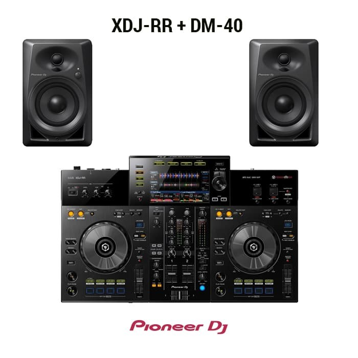 harga Pioneer dj paket ( xdj-rr + dm-40 ) Tokopedia.com