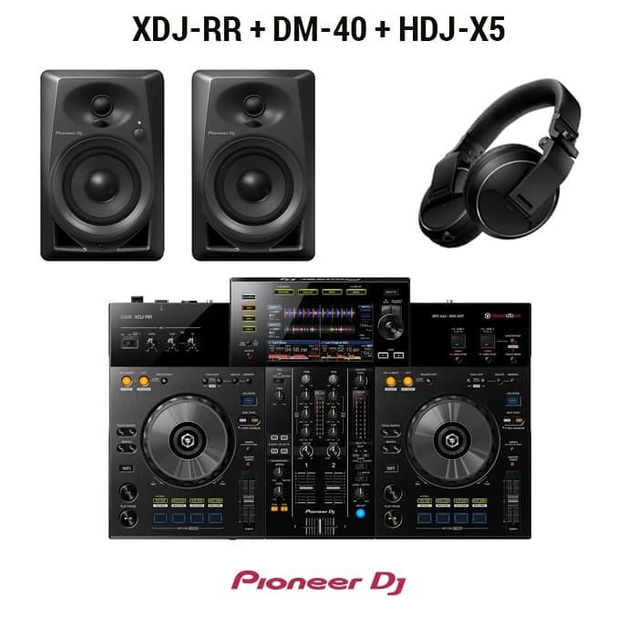 harga Pioneer dj paket ( xdj-rr + dm-40 + hdj-x5) Tokopedia.com