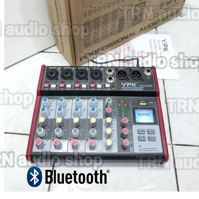 Jual Mixer sound 4 CH + 1 STEREO USB MP3 PROFESSIONAL ORIGINAL VPK -  Jakarta Barat - TRN audio Shop | Tokopedia