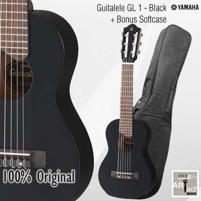 Foto Produk Mini Gitar GL1 Black / GL-1 / Guitalele / Guitar Original Yamaha dari Artech Music