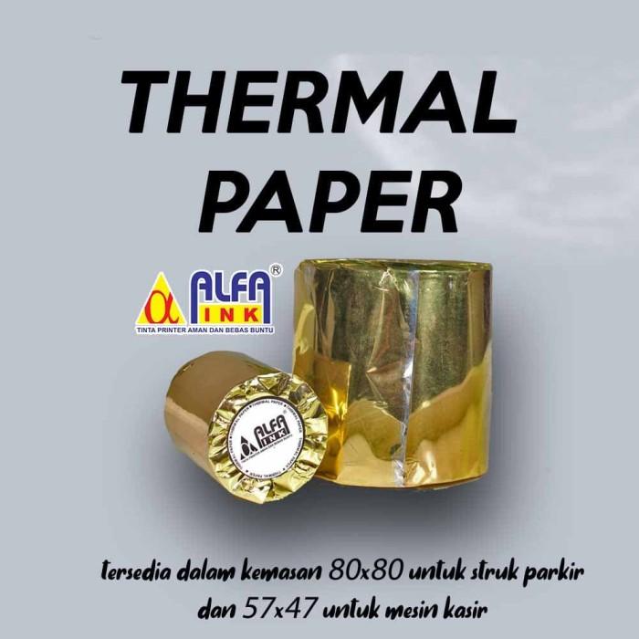 Foto Produk Kertas Thermal Paper dari ALFAINK