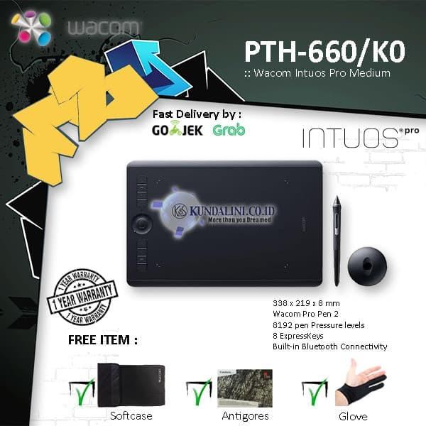 harga Wacom pth-660/k0- intuos pro medium Tokopedia.com