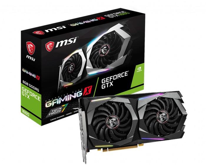 Foto Produk MSI GeForce GTX 1660 GAMING X 6G 6GB GDDR5 dari J&J online