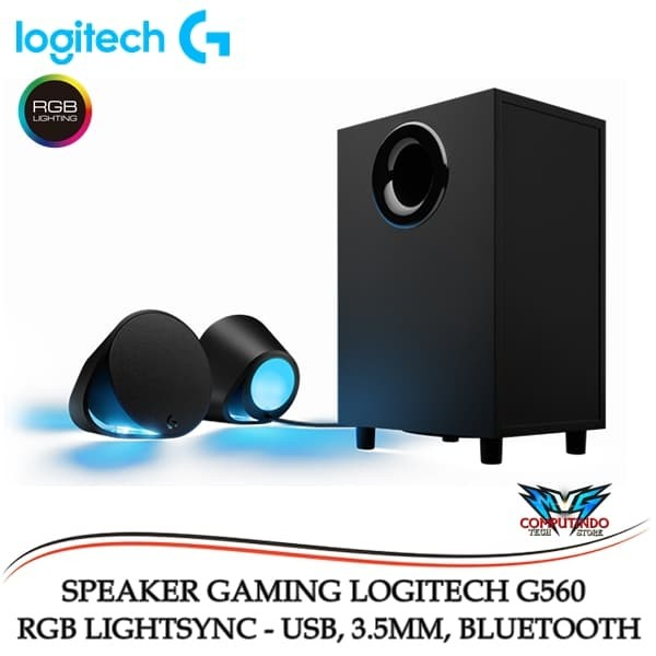 57b2091b983 Jual Logitech G560 LIGHTSYNC RGB PC Gaming Speaker - DKI Jakarta ...