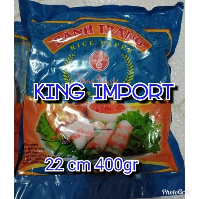 harga Kulit lumpia asli vietnam banh trang 16cm rice paper Tokopedia.com