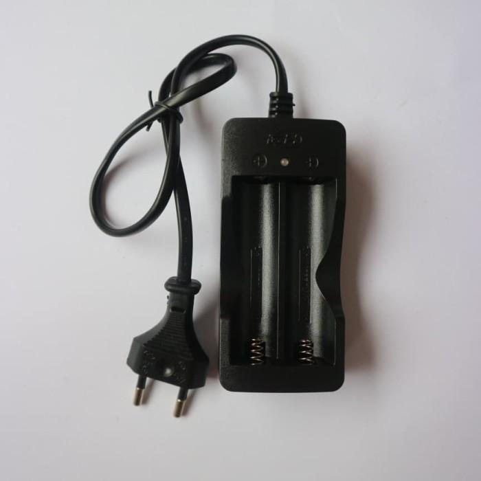 charger baterai double slot batre / batere universal 18650