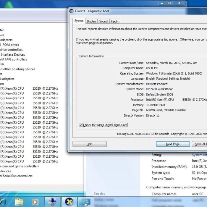 Jual Dual lan -Ram 16Gb - Dual Proc Xeon E5520 -PC Server Hp Z600 Worksttn  - Jakarta Pusat - AceStarindo   Tokopedia