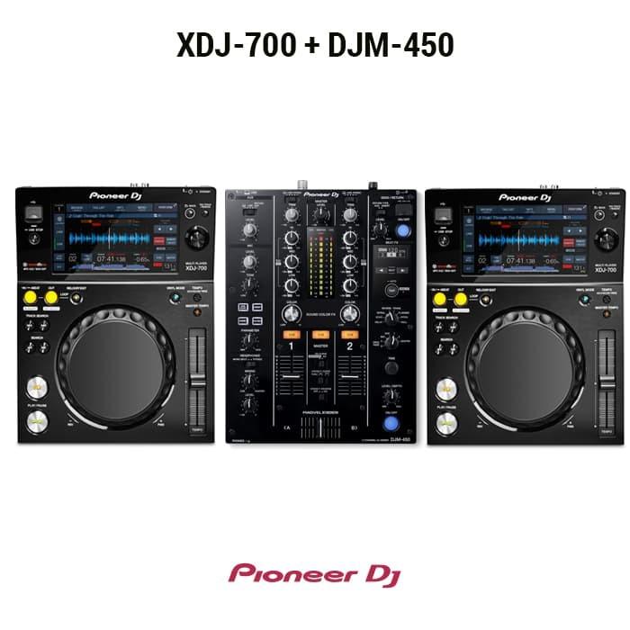 harga Pioneer dj set ( 2 xdj-700 +1 djm-450 ) Tokopedia.com