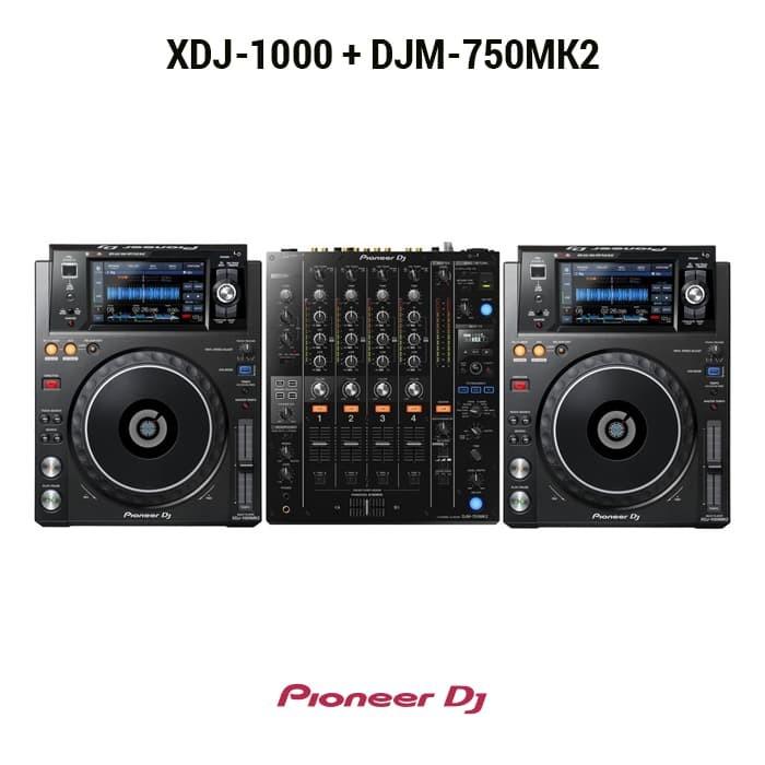 harga Pioneer dj paket ( 2 xdj-1000 + 1 djm-750 mk2) Tokopedia.com