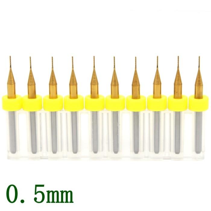 10pcs PCB milling cutter 2.4mm milling cutter tungsten carbide 3.175mm CNC