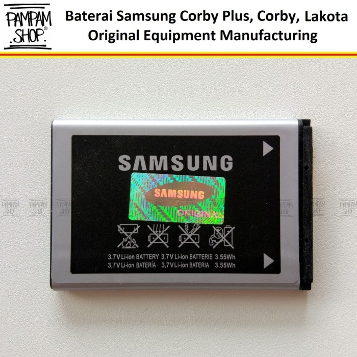 harga Baterai handphone samsung galaxy lakota c3322 original oem | battery Tokopedia.com