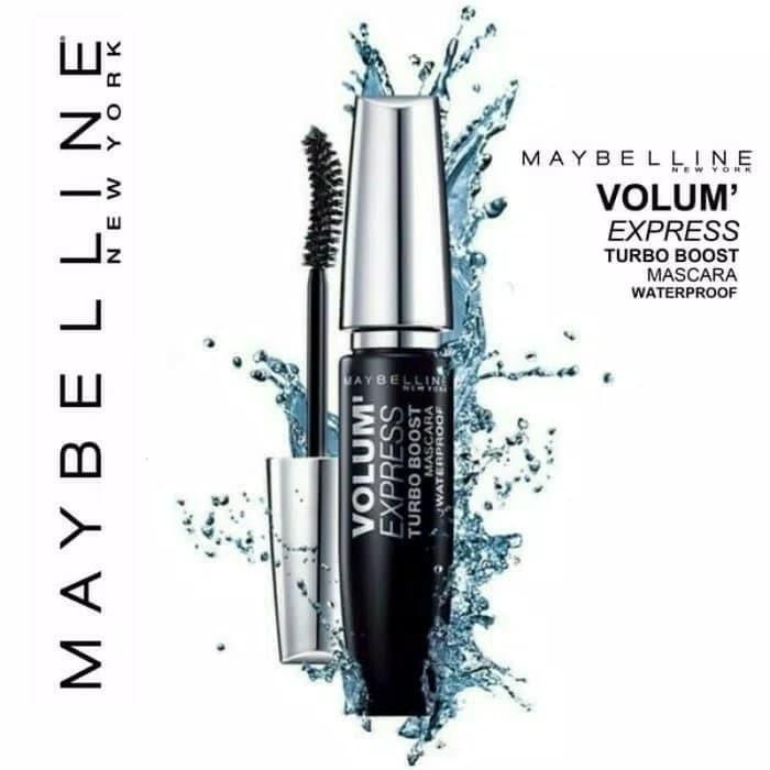 36eeb5204b1 Harga Jual Maybelline Volume Express Turbo Boost Mascara Original ...