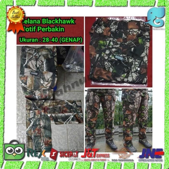 harga Celana panjang pdl tactical gunung blackhawk loreng camo perbakin Tokopedia.com
