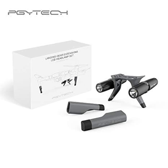 harga Pgytech landing gear extension with led headlamp for mavic 2 and zoom Tokopedia.com