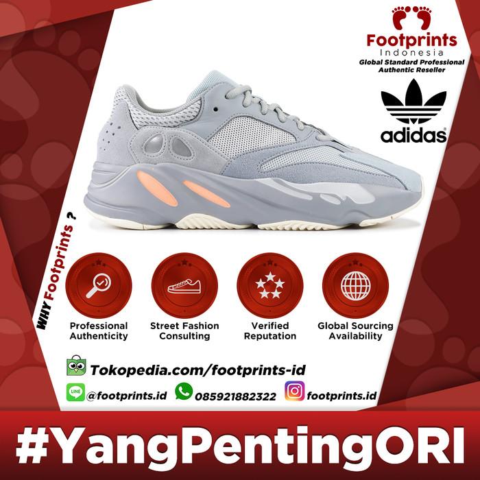 cab08a7d9 Adidas Yeezy Boost 700 Inertia Wave Runner 100% Original Sneakers