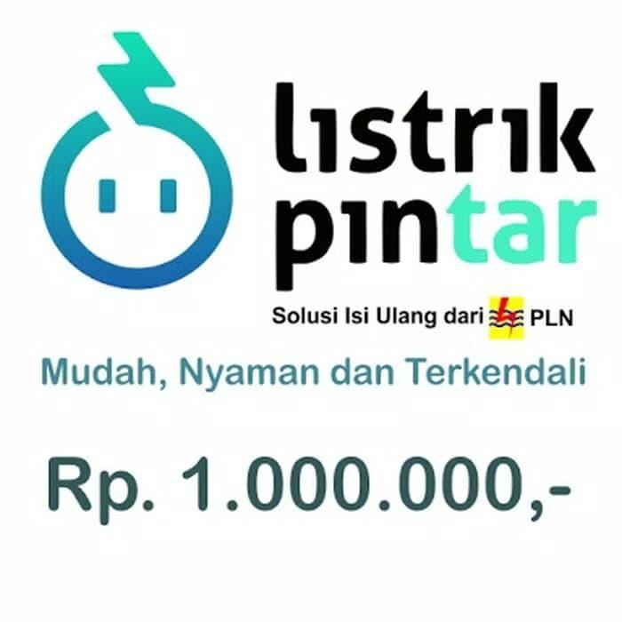 harga Token listrik pln 1.000.000 Tokopedia.com