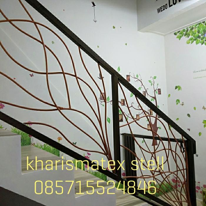 Jual Railing Tangga Pagar Balkon Motif Akar Kota Tangerang