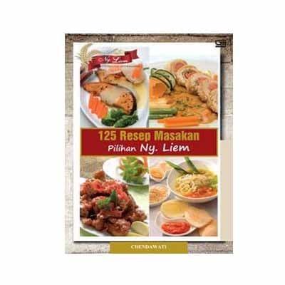 harga 125 resep masakan pilihan ny. liem Tokopedia.com