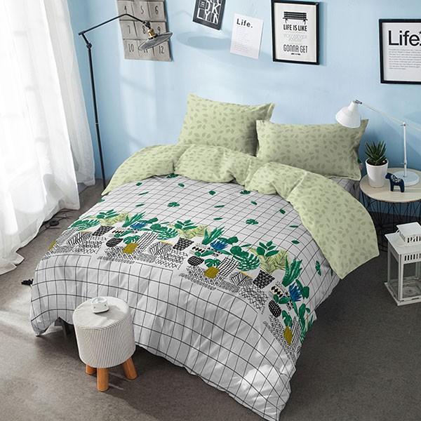 Kintakun bed cover d'luxe - 180 x 200 (king) - garden
