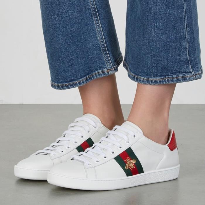 Jual Sepatu Gucci Ace Sneakers white
