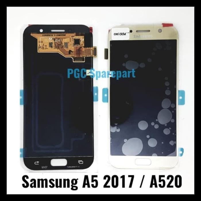 harga LCD Touchscreen Fullset Original OEM Bisa Kontras Samsung A5 2017 A520 Tokopedia.com