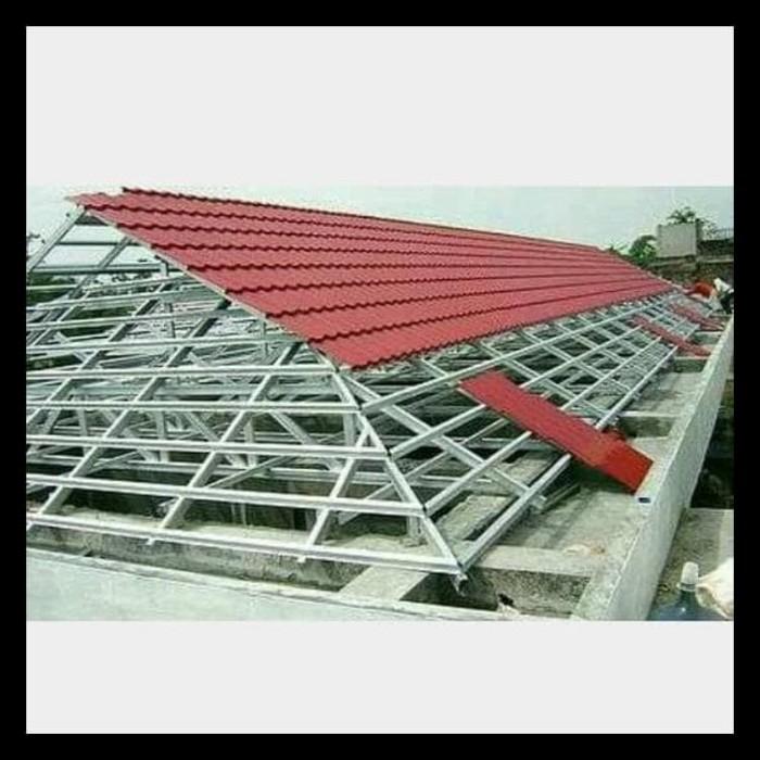 Jual Rangka Atap Rumah Baja Ringan Jakarta Dan Tangerang Standar Sni Jakarta Barat Rrkina Store69 Tokopedia