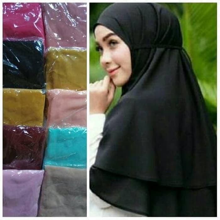 Jual Bergo Rubiah Bergo Aisha Bergo Aisyah Khimar 2 Layer Kab Kudus Difarossa Hijab Muslimah Tokopedia