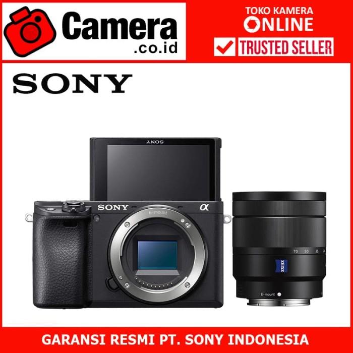 Sony alpha a6400 body pwp with 16-70mm f/4 za oss - kamera mirrorless