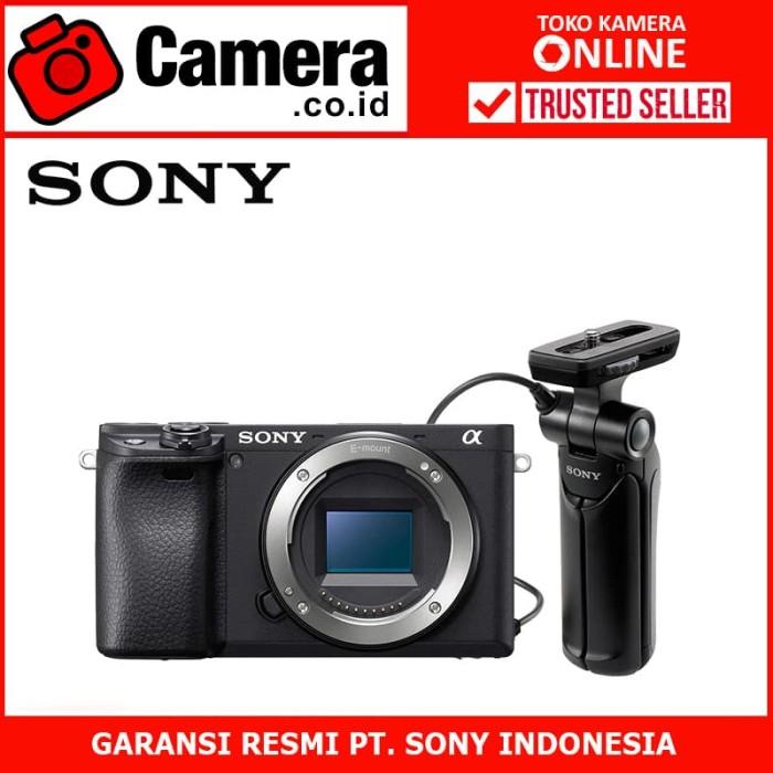 Sony alpha a6400 body pwp with gp-vpt1- kamera mirrorless