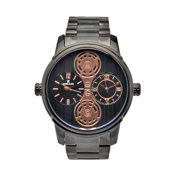 Jam tangan pria daniel klein dk111309-1/dk11309-4 - hitam
