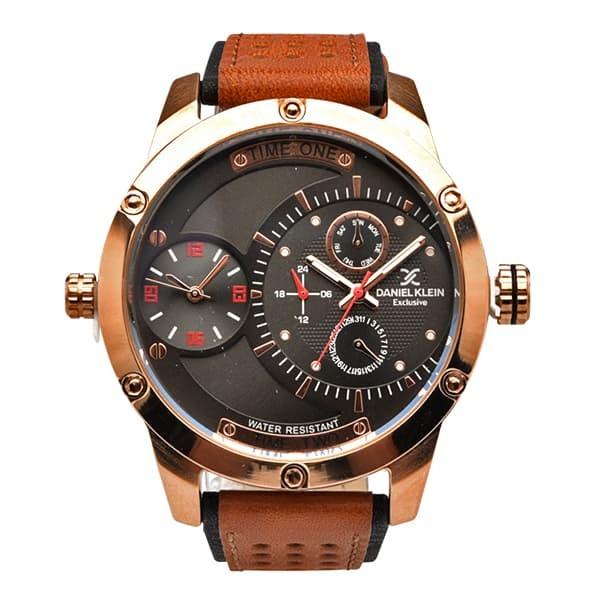 Jam tangan pria daniel klein dk11199-8 / dk11199-3 - hitam