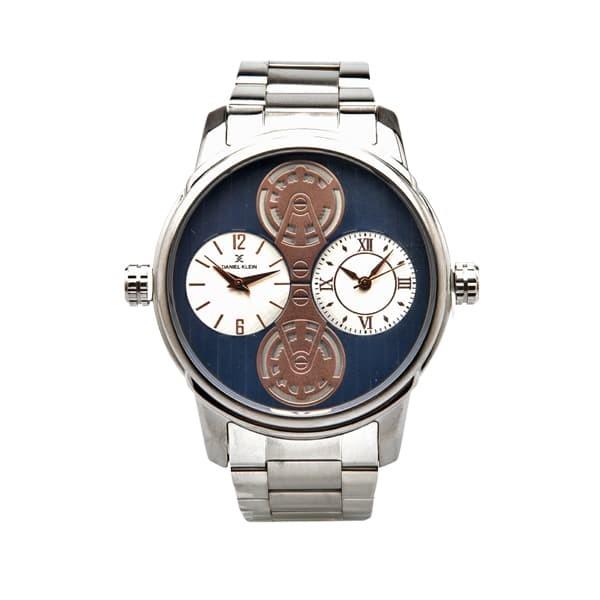 Jam tangan pria daniel klein dk11309-1/dk11309-4 - perak
