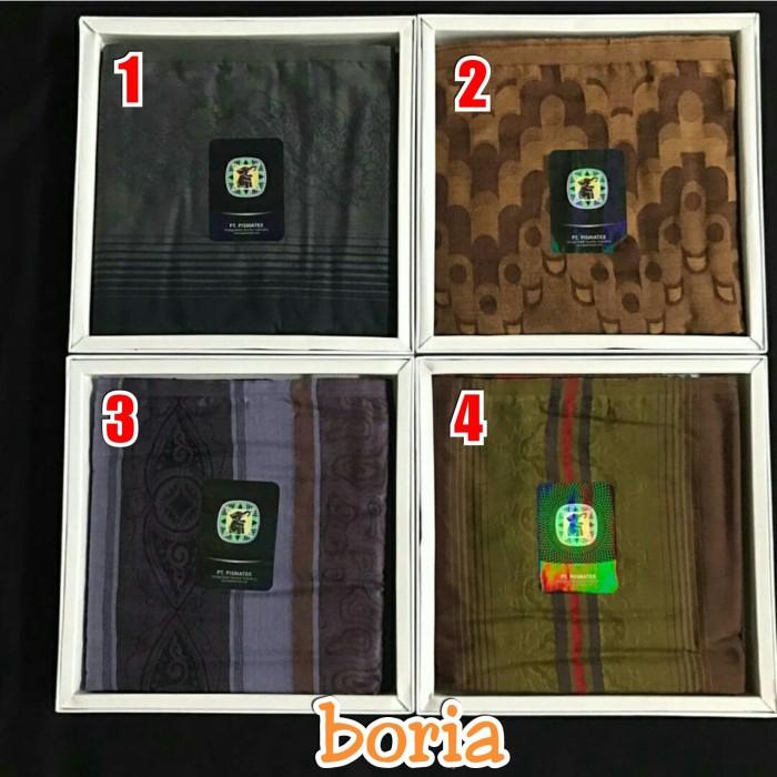 Foto Produk Sarung Gajah Duduk Signature / Sarung Tenun Premium / Sarung Motif dari Boria
