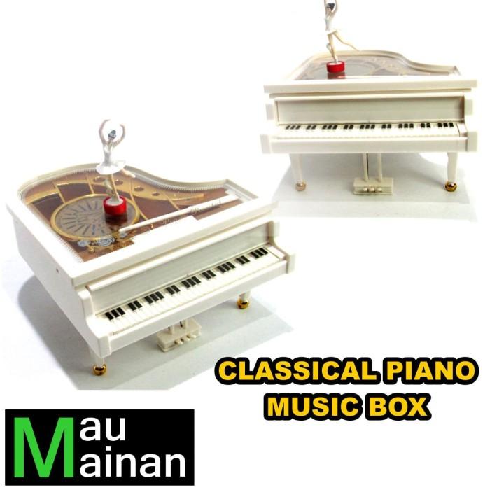 Classical Piano Music Box - Kotak Musik Piano Ballerina
