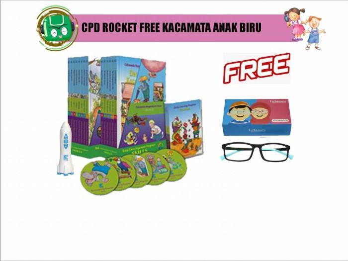 harga Flash sale: cpd rocket free kacamata anak biru Tokopedia.com