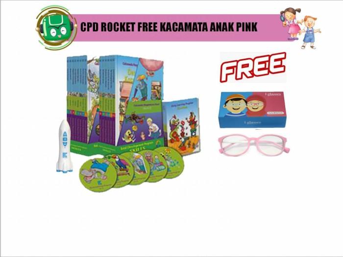 harga Flash sale: cpd rocket free kacamata anak pink Tokopedia.com