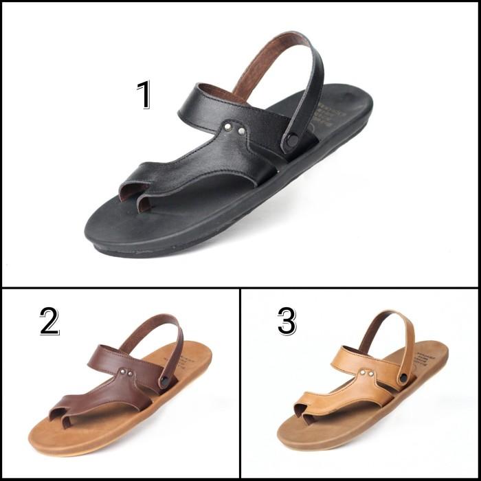 harga Sandal cevany riot original kulit asli sendal sepatu pria casual Tokopedia.com