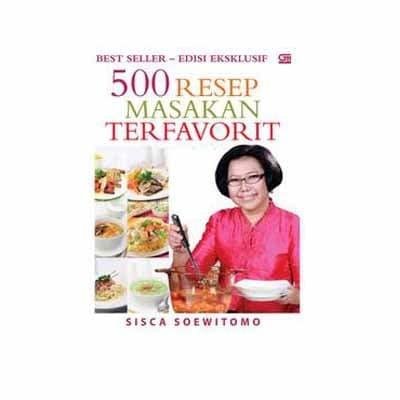 harga 500 resep masakan terfavorit Tokopedia.com