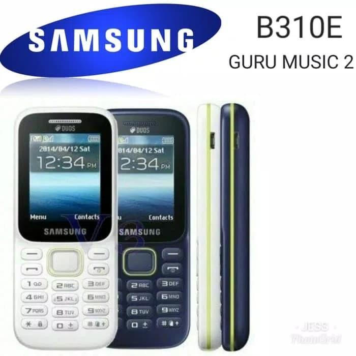 ... harga Hp samsung piton b310 handphone sm-b310e guru music 2 dual sim card Tokopedia