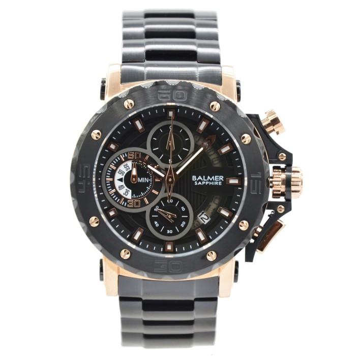 Balmer 7975m kaca sapphire (anti gores) - jam tangan pria - rosegold