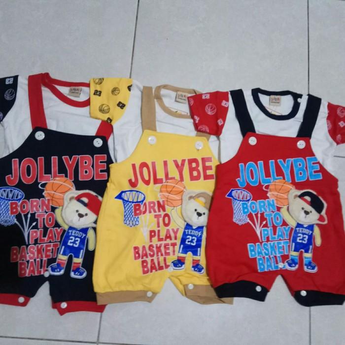 Jual baju kodok jolly bee play basket ball 3-6 bulan - Jakarta Barat - Two  Boys Baby Shop | Tokopedia