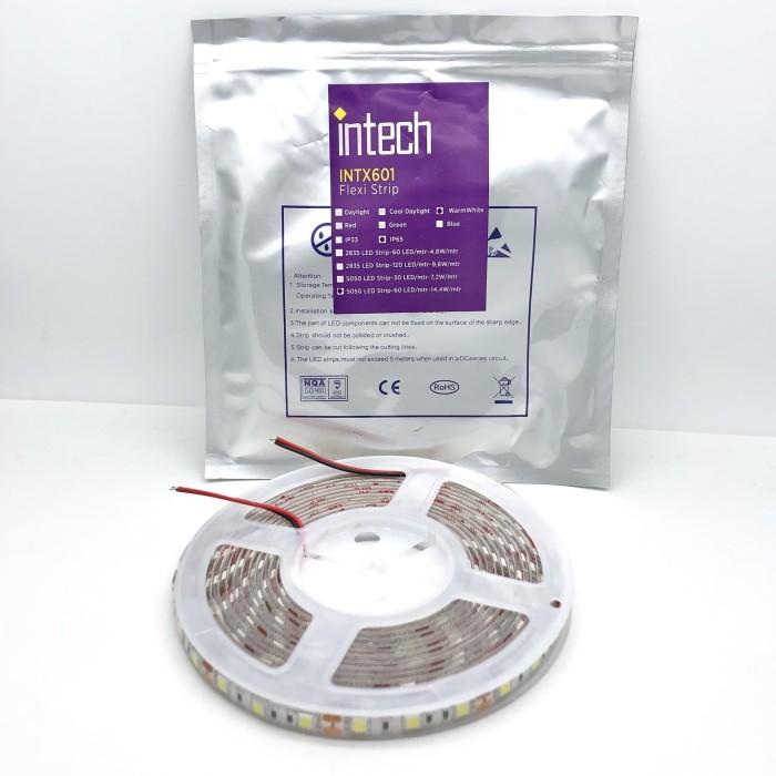 harga Intech flexi strip/ led strip intx 601 ip65 14.4watt - warm white Tokopedia.com