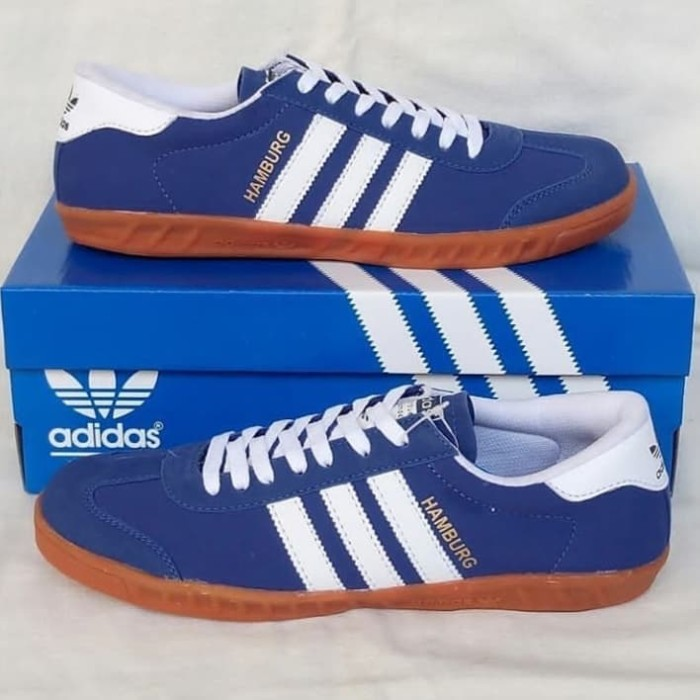 Jual Sepatu Adidas Hamburg Biru Putih Kab Garut