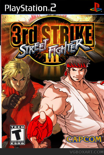 Jual Dvd Game Ps2 Street Fighter Iii 3rd Strike Fight For The