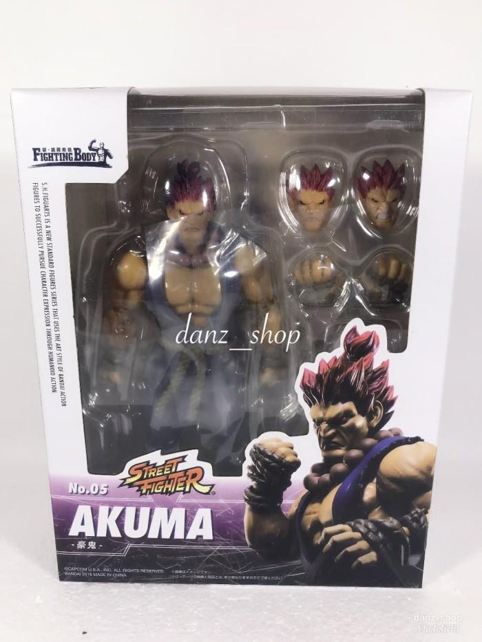 Jual Action Figure Akuma Street Fighter Tekken 7 Shf Jakarta Barat Accstore Jkt Tokopedia