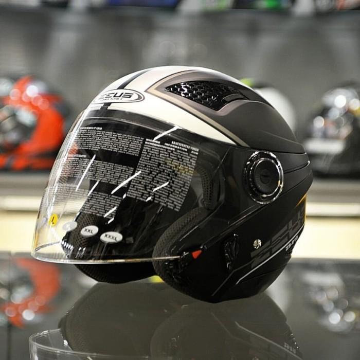 harga Zeus zs610 mblk silver 0017 | helm motor zs 610 zs-610 | gm mds kyt Tokopedia.com