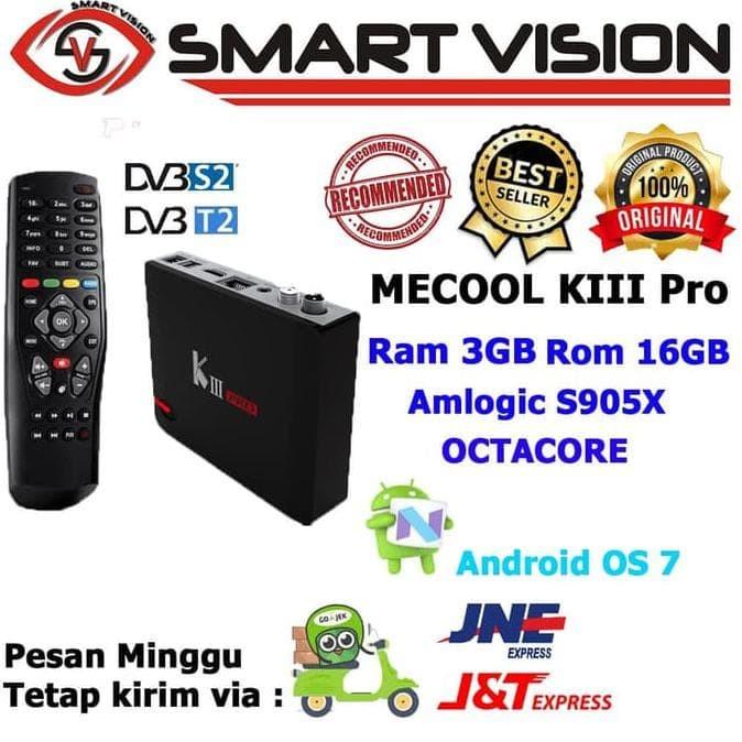 Jual Special Product Android Tv Box Mecool Kiii Pro Dvb T2/S2 3G 16G - DKI  Jakarta - Hara shop' | Tokopedia