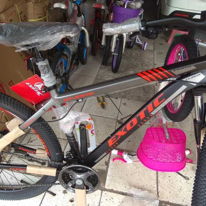 Jual Sepeda MTB 26 inch Exotic 2612 Alloy 21 speed Shimano