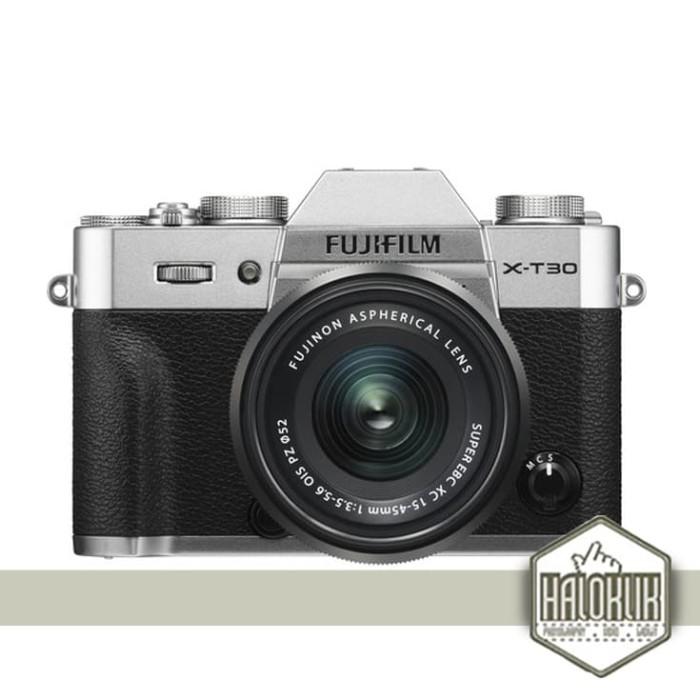 harga Fujifilm x-t30 15-45mm 15-45 mirrorless digital camera - silver Tokopedia.com