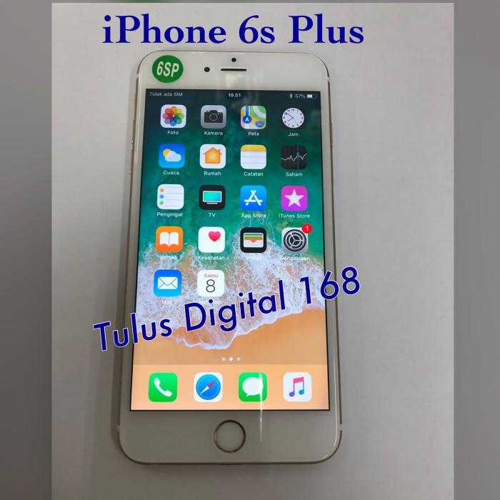 Jual Hp Handphone Iphone 6s Plus 16gb No Fingerprint Batangan Ori